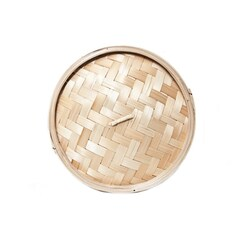 Capac pentru Cos din Bambus pentru Gatit la Abur, ø 26cm exterior, ø 24cm interior, 10 inch