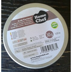Acid Tartric, 30 g - HOME CHEF