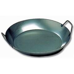 Tigaie Fier Negru pentru Paella, 450 mm - Matfer