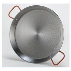 Tigaie pentru paella din otel slefuit (Ø 700 mm) - Garcima