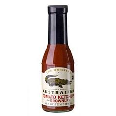 Tomato Ketchup, Usor-Picant, 340 g - The Original Australian