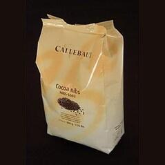 Boabe de Cacao Prajite, Maruntite, Grué/Cocoa Nibs, 800 g - Callebaut, Belgia