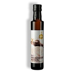 Ulei de Macadamia, Presat la Rece, BIO, 250 ml - Fandler, Austria