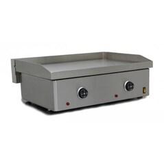 Plancha Electrica, 12 mm, Inox, Suprafata de Gatit 61 x 41 cm, 3.4kW, REC-60-E   - Simogas