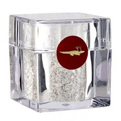 Argint Comestibil, Fulgi de Argint in Shaker Cub, 0.2 g - GoldGourmet, Germania