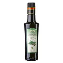 Ulei de Masline Extravirgin cu Busuioc, Basilicolio, 250 ml - Galantino, Italia