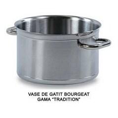 Vas pentru brezat sau cratita pentru blansat fara capac (24 cm) - TRADITION - Matfer-Bourgeat