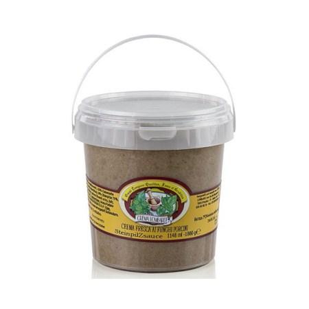Crema de Hribi, Crema Fresca ai Funghi Porcini, 1000 g - Crema Lombardi