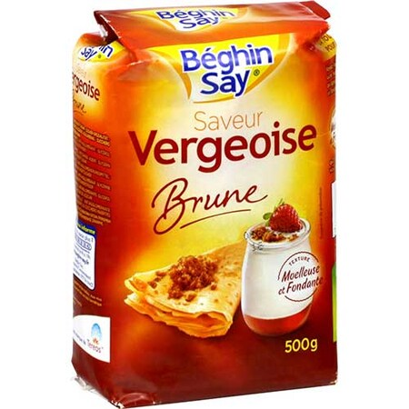 Zahar Vergeoise Brun, 500g - Beghin Say