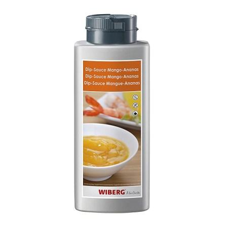 Dip-Sauce Mango-Ananas, 800g - Wiberg