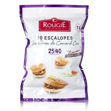 Foie Gras de Rata, 30 Escalopuri de cca. 25-40g, 30buc., Congelat, ca. 1000 g - Rougié