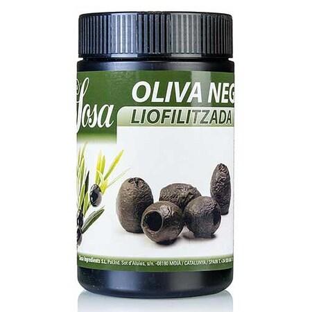 Masline Negre Liofilizate, Intregi, 100 g - SOSA