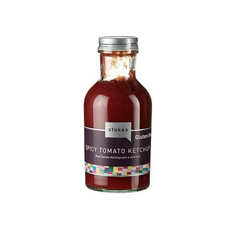 Chilli Ketchup, Fructat si Iute, fara gluten, 249 ml - Stokes