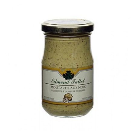 Mustar de Dijon cu Nuci, Fin, 190 g - Fallot, Franta