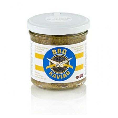 BBQ-Caviar (Mustar), din Boabe de Mustar Negru, 210 g - Kornmayer, Germania