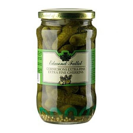 Castraveciori Acri, Cornichons Extra-Fins, 340 g - Fallot, Franta