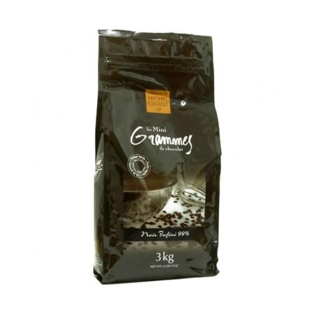Ciocolata Couverture Neagra, Noir Infini, callets, 99% Cacao, 3 Kg - Michel Cluizel, Franta