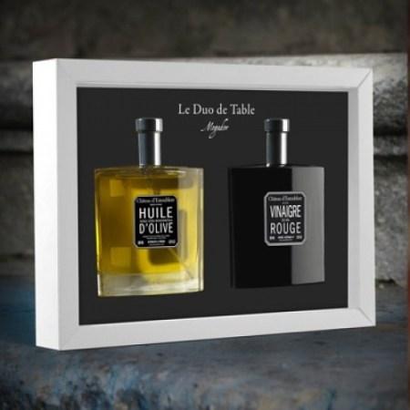 Ulei de Masline Extravirgin & Otet de Vin Rosu, Duo de Table, 200 ml - Chateau d´Estoublon, Franta