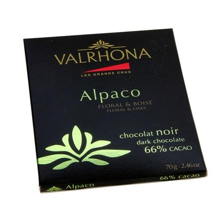 Ciocolata Neagra, 66% Cacao, Alpaco, Ecuador, 70 g - Les Grand Cru - VALRHONA