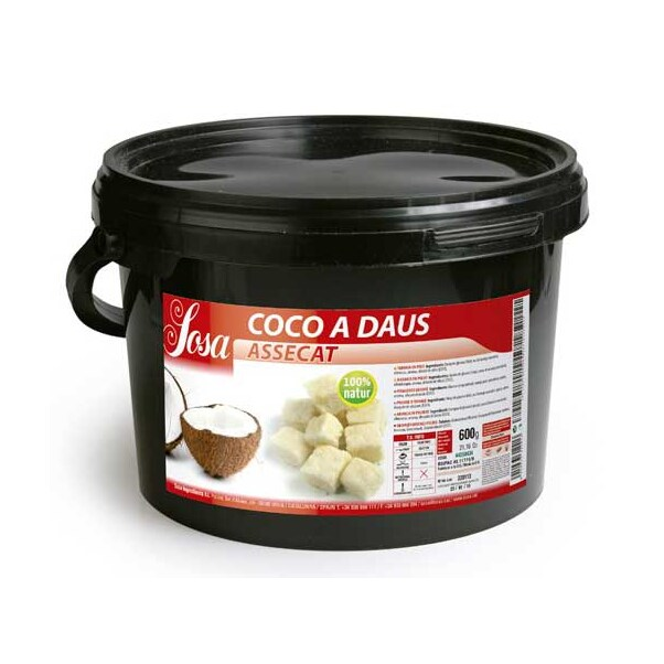 Nuca de Cocos Uscata, Cuburi, 2.5 Kg - SOSA