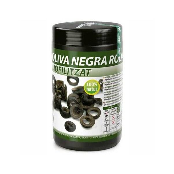 Rondele de Masline Negre Liofilizate, 75 g - SOSA
