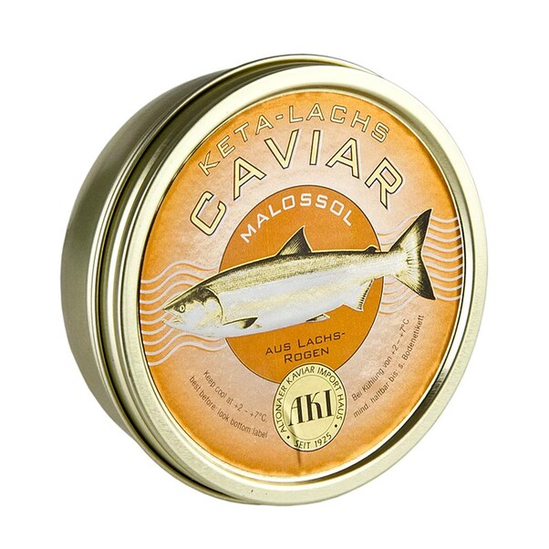Caviar de Somon Salbatic KETA, 250 g - AKI, Germania