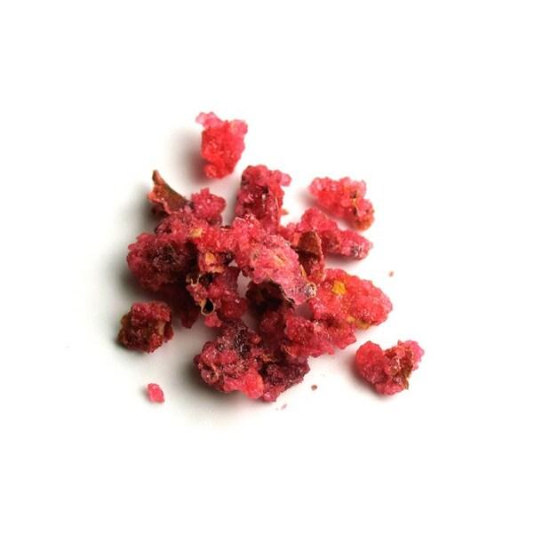 Flori de Trandafir Cristalizate 1 mm, 500 g - SOSA