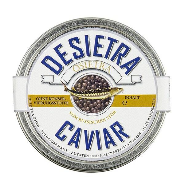 Caviar Superior de Nisetru, Malossol, Acvacultura, Fara Conservanti, 125 g - Desietra, Germania