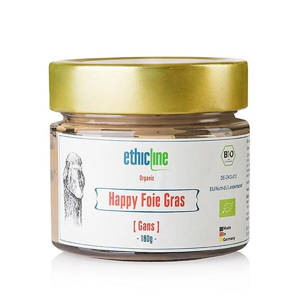 Pate de Foie Gras de Gasca, Happy Foie Gras, BIO, 180g, - EthicLine
