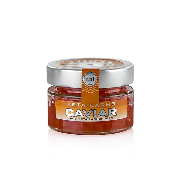 Caviar de Somon Salbatic KETA, 100 g - AKI, Germania